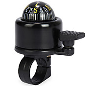 Bike Bell Black Bicycle Bell with Compass