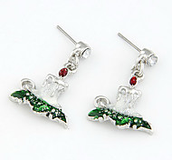Christmas Gift Christmas Dress Drop Earrings(Assorted Color)
