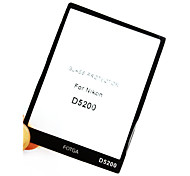 Fotga Premium LCD Screen Panel Protector Glass for Nikon D5200