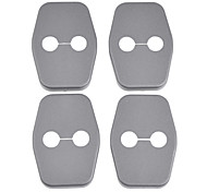 Protective ABS Car Door Lock Covers for C5 DS4 Peugrot 308 and More (4-Piece)
