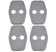 Protection ABS Couvertures de serrure de porte de voiture pour C5 DS4 Peugrot 308 et plus (4 pièces)