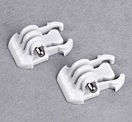 QD Buckle For Gopro HD HERO 3 and 2 Surface (White)