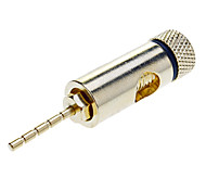 Gold Plated Speaker Plugs Pin Crimp Type