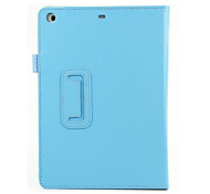 Lichi Grain PU Leather Case 2 Fold with Stand for iPad Air iPad 5(Assorted Color)