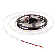 5M 30W 30x5050SMD 1500-1800LM 2800-3200K lumière blanche chaude Bande LED (DC12V)