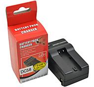DSTE DC58 Cargador para Minolta NP-700 Samsung SLB-0637 Sanyo DB-L30A Pentax D-LI72 Batería