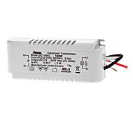 AC 220-240V 50/60Hz 0.66A to AC 12V 35-160W LED Voltage Converter