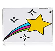 plástico amarillo estrella de nuevo caso para el iPad Mini 3, Mini iPad 2, iPad mini