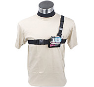 Light Weight 3 Points Chest Belt for GoPro HD Hero 2 and 3 (Black)