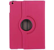 360 Degree Rotatable PU Full Body Case with Stand and Card Slot for iPad Air (Assorted Colors)