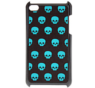 Shimmering Cool Skull Pattern Hard Case for iPod touch 4
