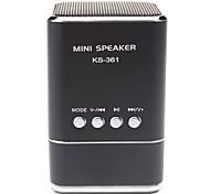 KS-361 Hi-fi Stereo Music micro TF/USB FM Speaker