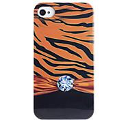 Joyland Diamant Leopard Pattern ABS zurück Fall für iPhone 4/4S