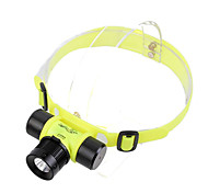 GD16 3-Mode Cree XP-G R2 LED Diving Headlamp (250LM, 1x18650/3xAAA, Yellow)