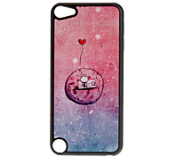 Shimmering A Cute Aliens Pattern Hard Case for iPod touch 5
