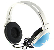 Stereo moda On-Ear Headphone per S3, S4, iPhone, iPod (Blu)
