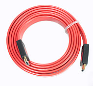 2M 6FT ULT-unite 4012-1447 1.4v HDMI Male to Male HD Digital Audio / Video Data Cable  Free Shipping