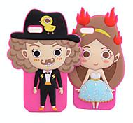 Prince et la Princesse Retour caisse de silicium pour l'iPhone 5 (couleurs assorties)