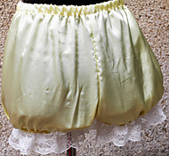 4 Color Satin Classic Lolita Bloomers with White Lace