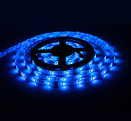 Impermeabile 5M 60W 60x5050SMD 3000-3600LM Strip Light Blue LED con 12V 5A adattatore