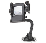 Windshield Mount Holder with 50mm to 100mm Width Adjustable Cradle, Charger, Stylus and Cable (8pin,100cm,5V 1A)