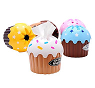 Ice Cream Cake Paper Towel Tube Tissue Bucket Prontpage Box Tissue Pumping Box