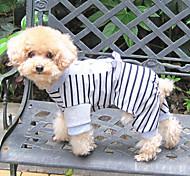 Bella Zebra Stripes pattern Tute con l'arco per animali Cani (colori assortiti, misure)