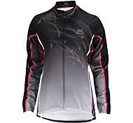 MYSENLAN Radsport Oberteile / Jacke / Trikot Damen Fahhrad tragbar / Windundurchlässig / warm halten / Fleece Innenfutter Langärmelige