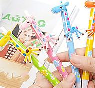 Giraffe Style Ballpoint Pens (Random Color)