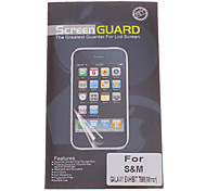 Professional Mirror Film Anti-Glare LCD Screen Guard Protector for Samsung Galaxy Exhibit T599