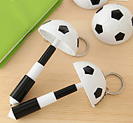 Football Style Ballpoint Pen with Keychain