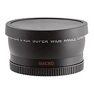 58mm 0.45X Super Wide Angle + Macro Conversion Lens for Camera- Black