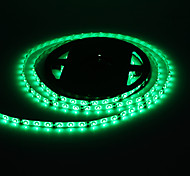 Waterproof 5M 24W 60x3528SMD 900-1200LM Green Light LED Strip Light with 12V 2A Adapter