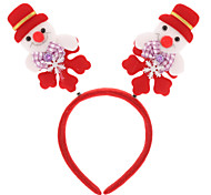 Snowman/Rabbit/Deer Shaped Christmas Headgear (Random Pattern)