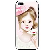 Lovely Girl Emboss Full Body Sticker for iPhone 5