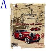 Caso Antique Car Design posteriore dura / copertura per iPad2/3/4
