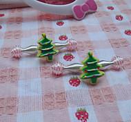 Children's Christams Tree Hair Clip(4/set)