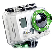 GoPro Aluminum LANYARD RING Mount For Hero2 (Green)