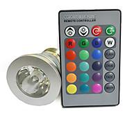RGB , A control Remoto) - E26/E27 4.0 W 220 lm- AC 85-265