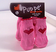 Warm Geschenk Soft Anti-Rutsch-Socken für nette Haustiere Hunde und Katzen