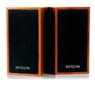 SENIC SN-465 Tragbarer Retro-Stil Mini-Lautsprecher für Laptops / PC (1 Paar)