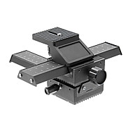 "Photo Studio Accesorios 4 Way Disparo de enfoque macro Rail Deslizador 1/4 ""placa Quick trípode FDSLR fo DSLR"