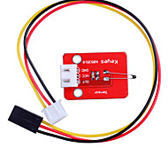 Analog Temperature Sensor Module for SCM Development Red