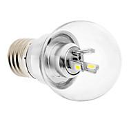 Ampoules Globe Blanc Chaud E26/E27 3 W 6 SMD 5730 LM 3000 K AC 85-265 V