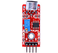 High Quality (For Arduino) Microphone Sound Detection Sensor Module - Red + Blue