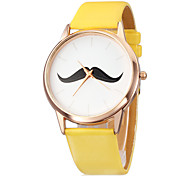 Women's Watch Minimalism Design Beard Pattern