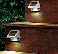 4-LED White Light LED Solar Light