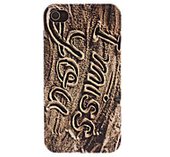 Sand Writing I Miss You Pattern PC Hard Case for iPhone 4/4S
