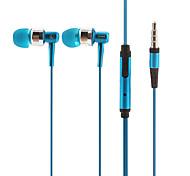 iP670 musique Salut-Fi stéréo avec micro In-Ear Bleu