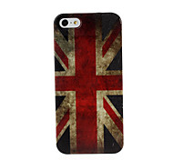Retro United Kingdom Flag Pattern Plastic Hard Case for iPhone 5/5S